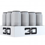 3D ENERGY 473ml Chrome x 12 Cans