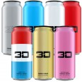 3D ENERGY 473ml x 12 *Mixed Flavour Pack*