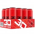 3D ENERGY 473ml x 12 Red Candy Punch