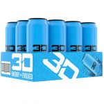3D ENERGY 473ml Blue  x 12 Cans