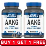 Applied Nutrition AAKG 120 Caps *BUY 1 GET 1 FREE*