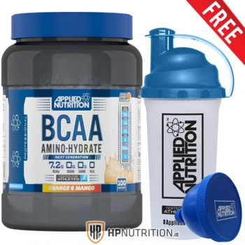 Applied Nutrition BCAA Amino Hydrate 1.4kg  (100 servings) + FREE Funnel +Shaker