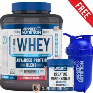 Applied Nutrition Critical Whey Protein 2.27kg + Creatine 250g + Shaker