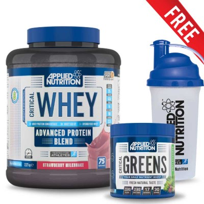 Applied Critical Whey Protein 2.27kg + Free Critical Greens & Shaker