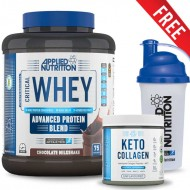 Applied Critical Whey Protein 2.27kg + Keto Collagen + Shaker