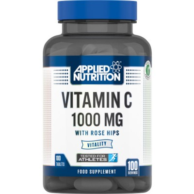 Applied Nutrition Vitamin C 1000mg with Rose Hips  - 100 Tabs