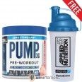 Applied Nutrition Pump 3G Zero Stimulant Pre Workout 375g + FREE Shaker