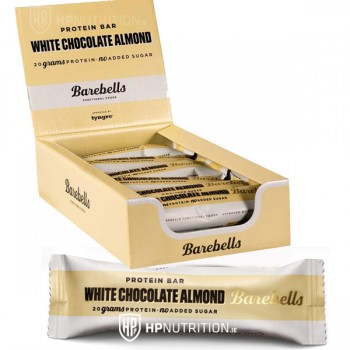 Barebells Protein Bars White Chocolate Almond Box of 12 *BB 5/10/19*