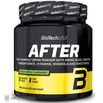 Biotech USA AFTER - 420g (BCAA , Creatine ,Glutamine Recovery Formula)