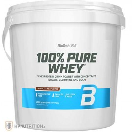 BioTech USA 100% PURE Whey Protein 4kg