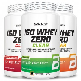 BioTech USA Iso Whey Zero Clear 1.362kg  (54 Servings)