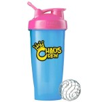 Chaos Crew Shaker Blue-Pink 600ml