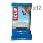 Clif Chocolate Chip Energy Bars  68g - Box Of 12 Bars *20% OFF*