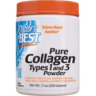 Doctor's Best Pure Collagen, Types 1 and 3 Powder 200 g