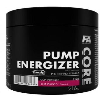 FA Nutrition Core Pump Energizer Pre workout  216g *45 Servings*