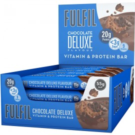 Fulfil Chocolate Deluxe Protein Bars 15 x 55g