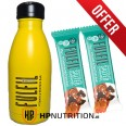 Fulfil Stainless Steel Water Bottle 500ml + 2 Free FulFil Bars