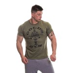 Golds Gym Muscle Joe T Shirt - Army