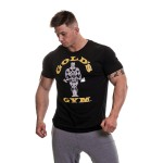 Golds Gym Muscle Joe T Shirt - Black