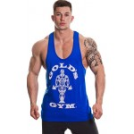 Golds Gym Muscle Joe Premium Stringer Vest - Royal