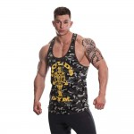 Golds Gym Camo Stringer Vest