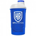 HPnutrition.ie Blue Wave Shaker 600ml