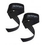 Harbinger BLACK Padded Lifting Straps - 2 Pcs