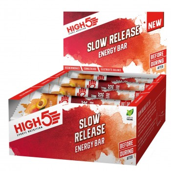 High5 Slow Release Energy Bar - 16 Bar Pack *20% OFF*