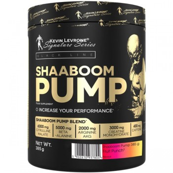 Kevin Levrone Shaaboom Pump Black Line 385g 10% OFF