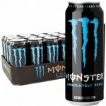 Monster Energy Absolutely Zero 500ml (Zero Sugar) - Pack of 12