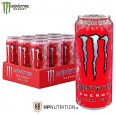 Monster Energy Ultra Red - 500ml  (Zero Sugar) - Pack of 12