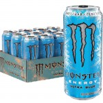 Monster Energy Ultra Blue - 500ml (Zero Sugar) - Pack of 12