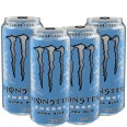 Monster Energy - 500ml (Zero Sugar) - Pack of 4