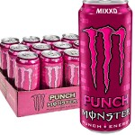 Monster Energy Mixxd Punch 500ml -  Pack of 12