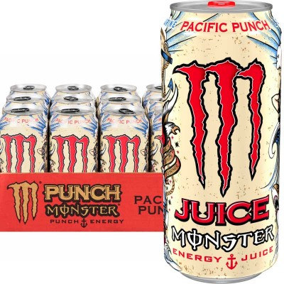 Monster Energy Pacific Punch 500ml -  Pack of 12