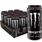 Monster Energy Ultra Black  500ml (Zero Sugar) - Pack of 12