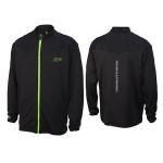 MUSCLEPHARM FULL ZIP SWEATSHIRT WITH MESH TRIM