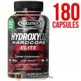 MuscleTech HydroxyCut Hardcore Elite Fat Burner - 180 Capsules