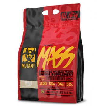 Mutant Mass Gainer 6.8kg/15lbs *15% OFF*