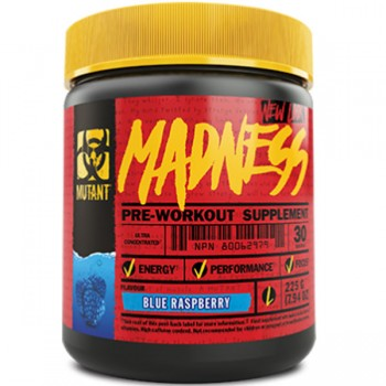 Mutant Madness Pre Workout  225g