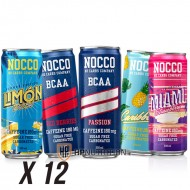 Nocco BCAA 330ml x 12 Pack *15% OFF*
