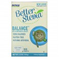 NOW Foods Better Stevia Balance With Chromium & Inulin (100 Packets)