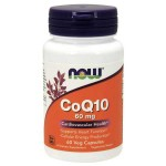 NOW Foods CoQ10 60 mg - 60 Veg Capsules