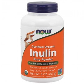 NOW Foods  Organic Inulin, Pure Powder 227 g