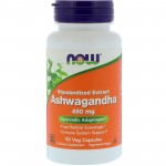 NOW Foods Ashwagandha Extract 450mg 90 Veg Caps