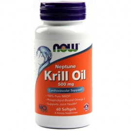 NOW Foods Neptune Krill Oil 500 mg - 60 Softgels
