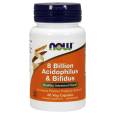 NOW Foods 8 Billion Acidophilus & Bifidus Probiotic 120 Veggie Caps