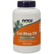 NOW Foods Cal-Mag DK With D3 & k2  180 Caps