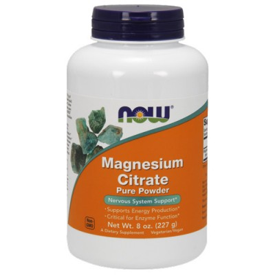 NOW Foods Magnesium Citrate Pure Powder 227g