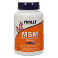 NOW Foods MSM 1000mg *Joint Support* - 120 Caps